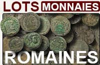 Lots monnaies romaines
